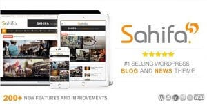 Sahifa – Responsive WordPress News Magazine Newspaper Theme