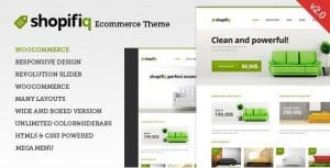 Shopifiq – Responsive WordPress WooCommerce Theme
