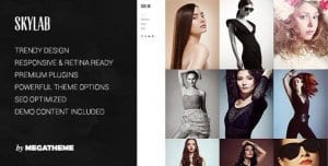 Skylab – Portfolio Photography WordPress Theme