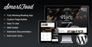 SmartFood – Restaurant Cafe Bistro WordPress Theme