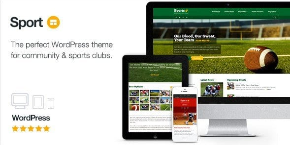 Sport – WordPress Club Theme