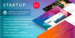 Startuply – Multi Purpose Startup Theme