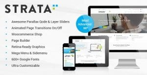 Strata – Professional Multi Purpose Theme