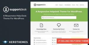 Support Desk – A Responsive Helpdesk Theme