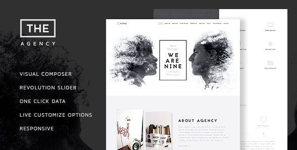 The Agency – Creative One Page Agency Theme