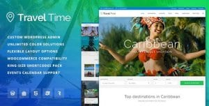Travel Time – Tour Hotel Vacation Travel WordPress Theme