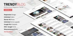 TrendyBlog – Multipurpose Magazine Theme
