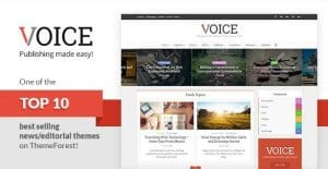 Voice – Clean News Magazine WordPress Theme