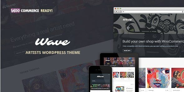 Wave – WordPress Theme For Artists