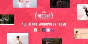 Wedding – All in One WordPress Theme