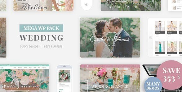Wedding Industry – Wedding Multipurpose Couple WP