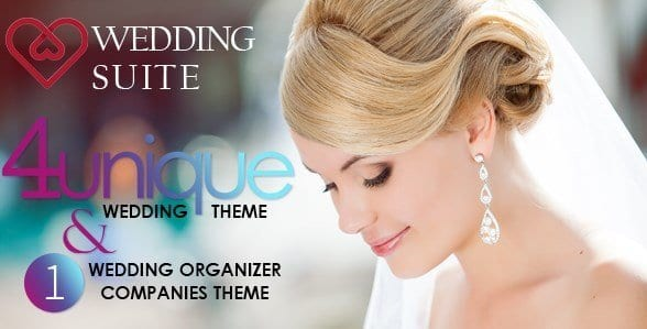 Wedding Suite – WordPress Wedding Theme