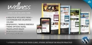 Wellness – A Health Wellness WordPress Theme