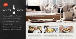 White Rock – Restaurant Winery Theme