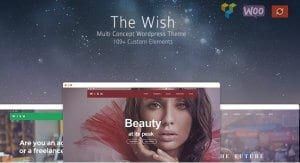 Wish – Responsive Multi Purpose WordPress Theme