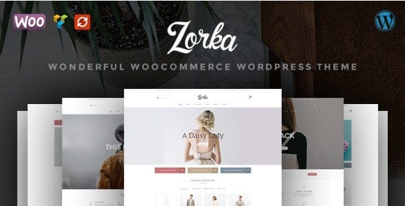 ZORKA – Wonderful Fashion WooCommerce Theme