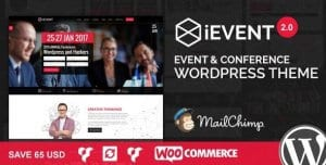 iEvent – Event Conference WordPress Theme