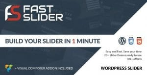 Fast Slider – Easy and Fast Slider Plugin for WordPress