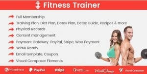 Fitness Trainer – Training Membership Plugin