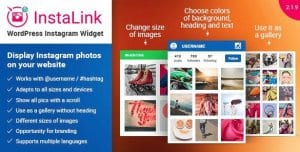 Instagram Widget – Instagram for WordPress
