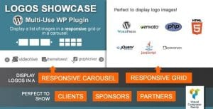 Logos Showcase – Multi Use Responsive WP Plugin