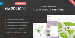 Mapplic – Custom Interactive Map WordPress Plugin