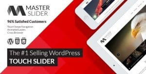 Master Slider – WordPress Responsive Touch Slider