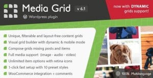 Media Grid WordPress Responsive Portfolio Plugin
