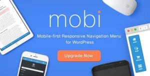 Mobi – Mobile First WordPress Responsive Navigation Menu Plugin