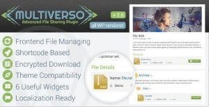 Multiverso – Advanced File Sharing Plugin