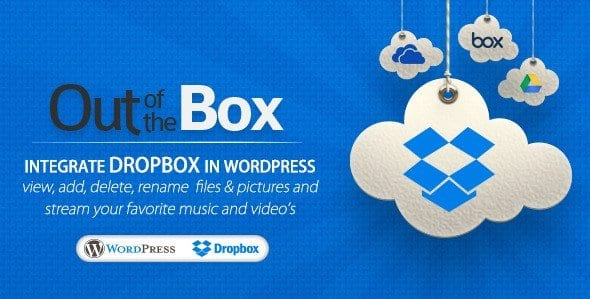 Out of the Box – Dropbox plugin for WordPress