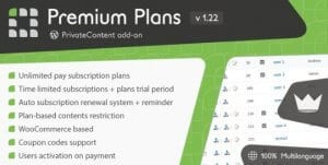 PrivateContent – Premium Plans add on