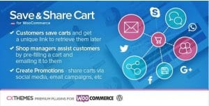 Save Share Cart for WooCommerce