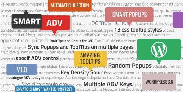 SmartADV – Tooltips Banners and Popups for WP