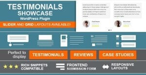 Testimonials Showcase – WordPress Plugin