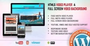 Video Player FullScreen Video Background – WP Plugin