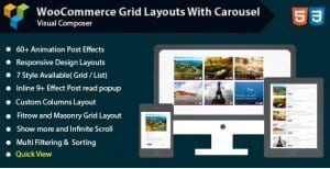 Visual Composer – Woocommerce Grid with Carousel