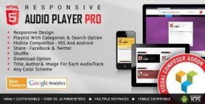 Visual Composer Addon – HTML5 Audio Player PRO