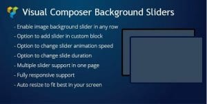 Visual Composer Background Sliders
