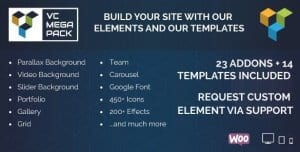 Visual Composer Mega Pack – Addons and Templates