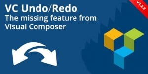 Visual Composer Undo Redo Buttons