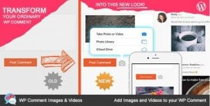 WP Comment Images and Videos