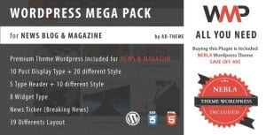 WP Mega Pack for News Blog and Magazine Plugin