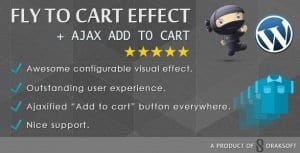 WooCommerce Fly to Cart Effect Ajax add to cart