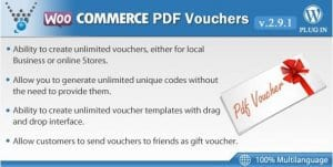 WooCommerce PDF Vouchers – WordPress Plugin