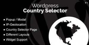 WordPress Country Selector WordPress Plugin
