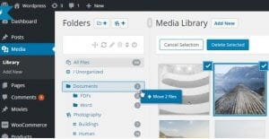WordPress Real Media Library – Media Categories Folders