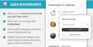 WordPress User Bookmarks Standalone Version