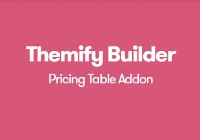 Themify Builder Pricing Table Addon