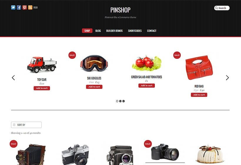 Themify Pinshop WooCommerce Themes